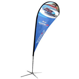 Tear Drop Banner Stand