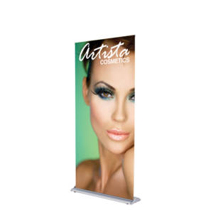 Silverstep Deluxe Retractable Banner Stand - 36""