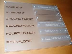 Floor & Wall Signs