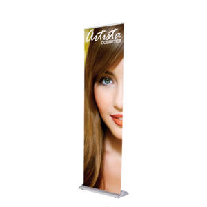 Silverstep Deluxe Retractable Banner Stand - 24""