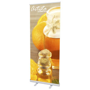 Econo Roll-up Retractable Banner Stand - 33.5""