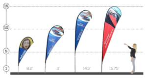 Teardrop Premium Advertising Flag