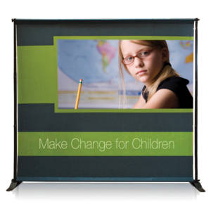 Premium Outdoor Backdrop Banner Stand